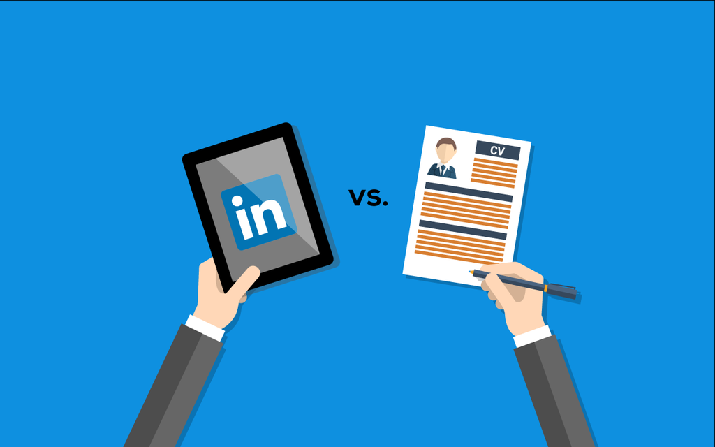 is your linkedin profile replacing your resume or cv